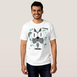 Cat (Grey) Men's T-Shirt