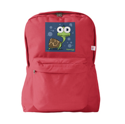 TURTLE (NAVY BLUE) RED BACKPACK