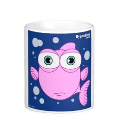 FISH (PINK) MUG