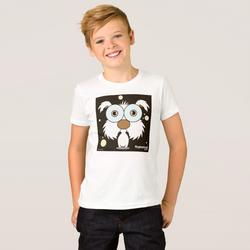 DOG (WHITE) BOY'S T-SHIRT