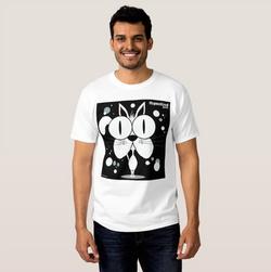 Cat (White) Men's T-Shirt