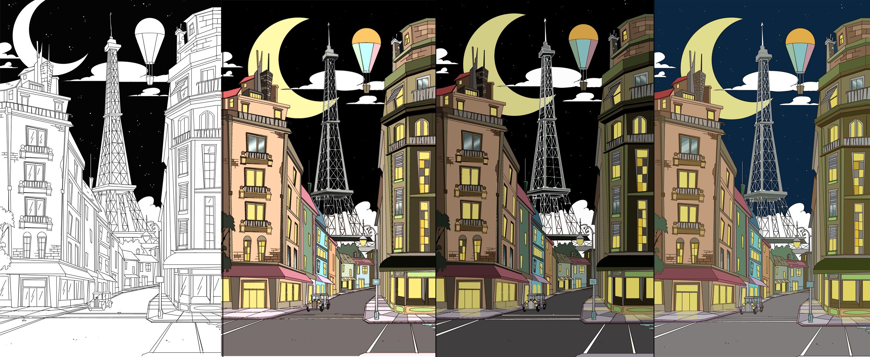 Paris Color Variations