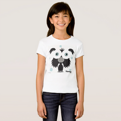 DOG (BLACK) GIRL T-SHIRT