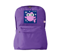 FISH (PINK) PURPLE BACKPACK