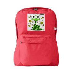 SNAKE (GREEN) RED BACKPACK