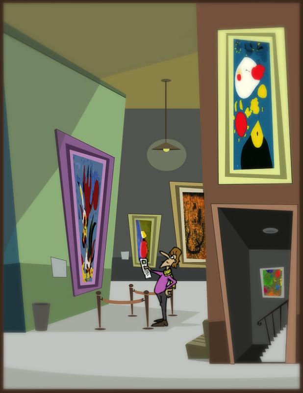 """'The Art Critic"""""""
