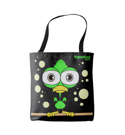 BIRD (GREEN) SHOPPING BAG