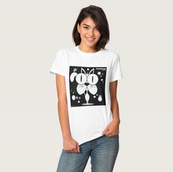 Cat (White) Women's T-Shirt