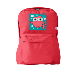 FISH (LIGHT RED) RED BACKPACK RED