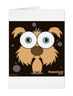DOG (BROWN) CARD