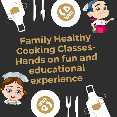 Family Hands On Cooking Class