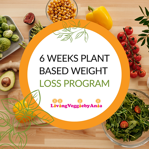 6 Weeks Plant Based Weight Loss Program to ChangeYour Life