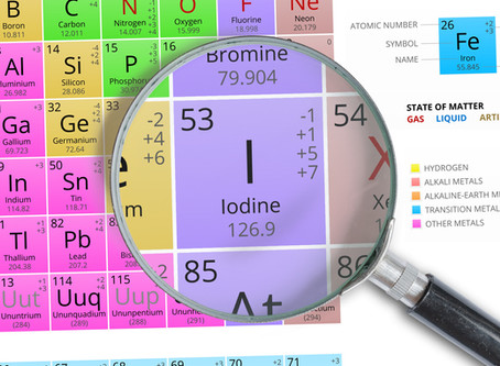 What about iodine?