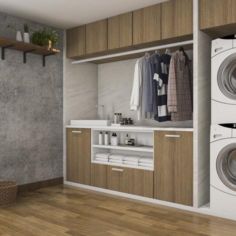 Aménagement de salle de lavage