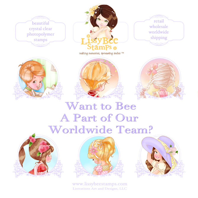 Would You Like To Carry Lissy Bee Stamps?