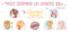Lissy Bee Stamps Banner 2 FREE SHIPPING