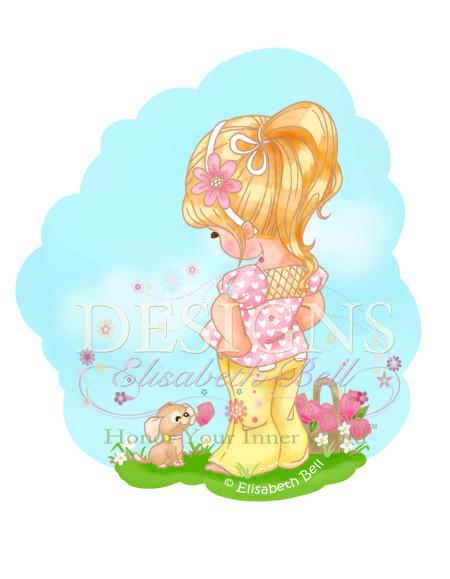 Little Lulu Copyright Elisabeth Bell