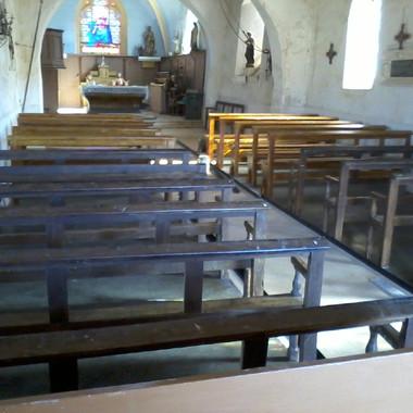 Bancs d'église