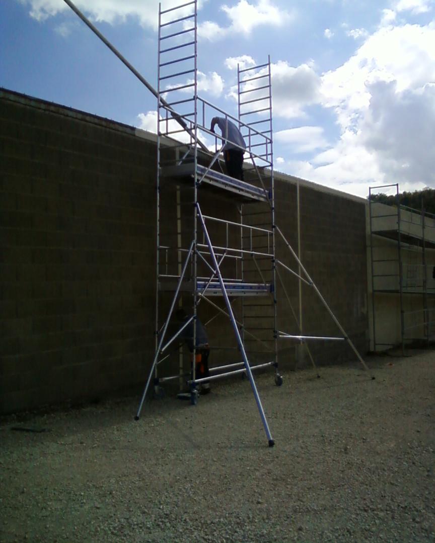 Peinture bâtiments à Dombasle en Argonne