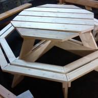 Nouveau modèle : table octogonale