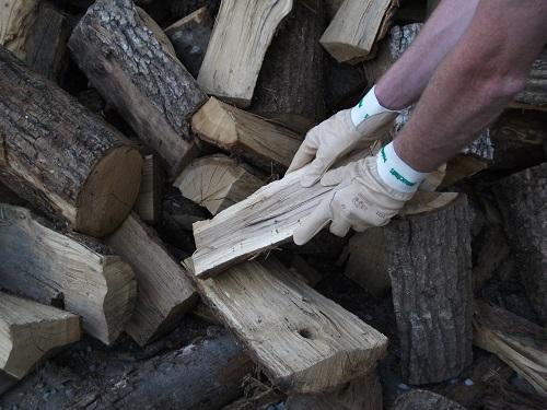 Rangement de bois