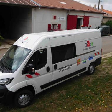 Nouveau véhicule Peugeot Boxer