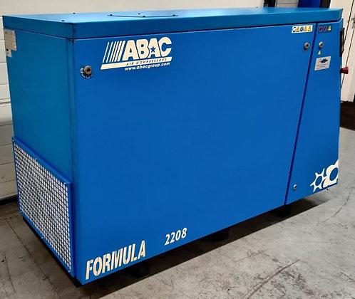 ABAC Formula 2208 Schroefcompressor 22 kW 3.450 l/min bouwjaar 2005