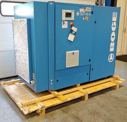 BOGE SLF40-3 Schroefcompressor 30 kW 5.300 l/min bouwjaar 2016