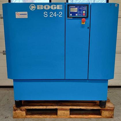 Boge S24-2 Schroefcompressor 18.5kW 2.710 l/min bouwjaar 2008