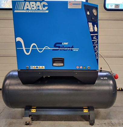 ABAC B5900LN/270 FT5.5 Geluidgedempte 4kW/5.5pk 653 l/min bouwjaar 2009