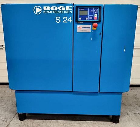 Boge S24 Schroefcompressor 18.5kW 2.450 l/min bouwjaar 2002
