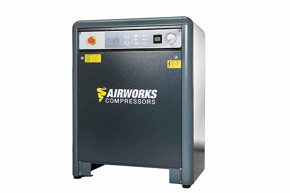 Airworks K50T10SD 7.5kW Geluidgedempte zuigercompressor 1.100 l/min 10 bar