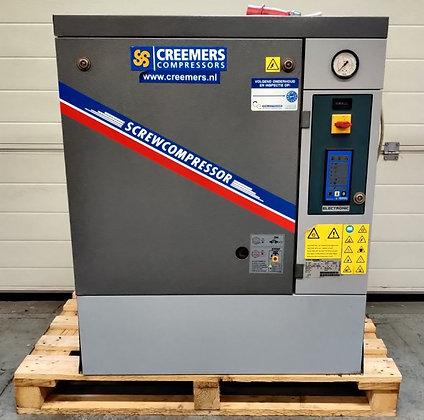Creemers RCA7.5 Schroefcompressor 7.5 kW 996 l/min bouwjaar 2016
