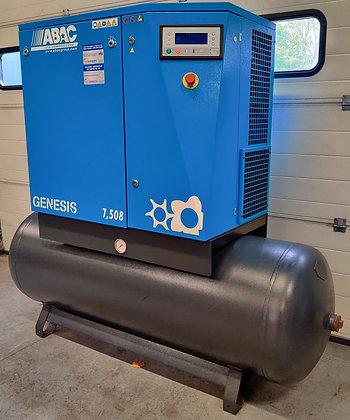 ABAC Genesis 7.508 Schroefcompressor 7.5 kW 1.240 l/min bouwjaar 2006