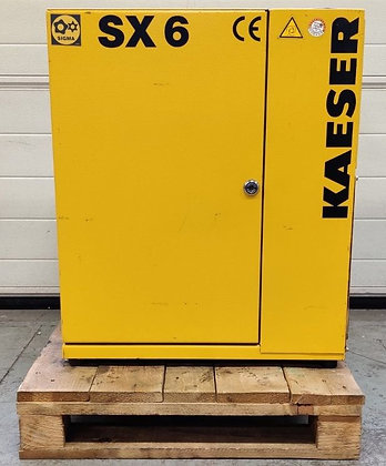 Kaeser SX6 Schroefcompressor 4 kW 600 l/min bouwjaar 2001