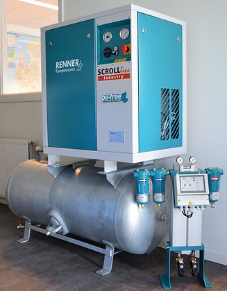 Renner SLD-I 2.208-250 Scroll-compressor  2.2kW, 238 liter/min, bouwjaar: 2018
