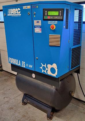 ABAC Formula.ES11/275 Schroefcompressor 11kW 450-1.650 l/min bj 2005