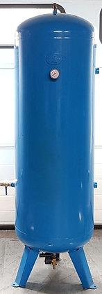 Verticale 500 liter persluchtketel blauw 500 liter