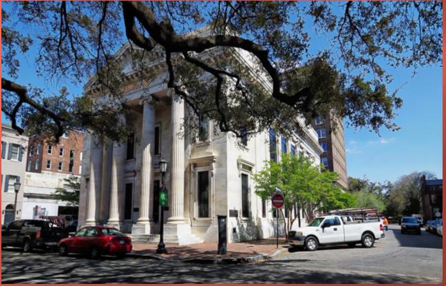 Bank of America Building Savannah GA