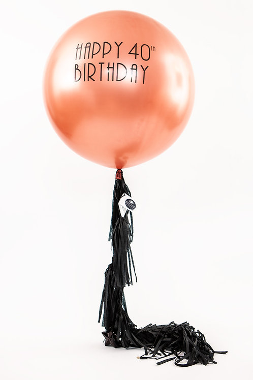 Personalised Giant Balloon - including delivery (sorry Dublin only)
