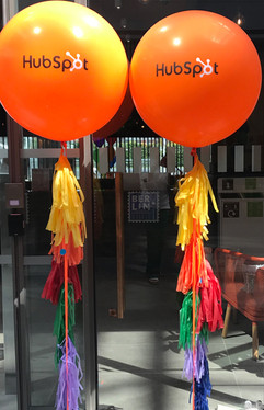 Hubspot Pride Balloons