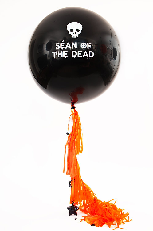 Personalised Halloween Giant Balloon - including delivery (sorry Dublin only)