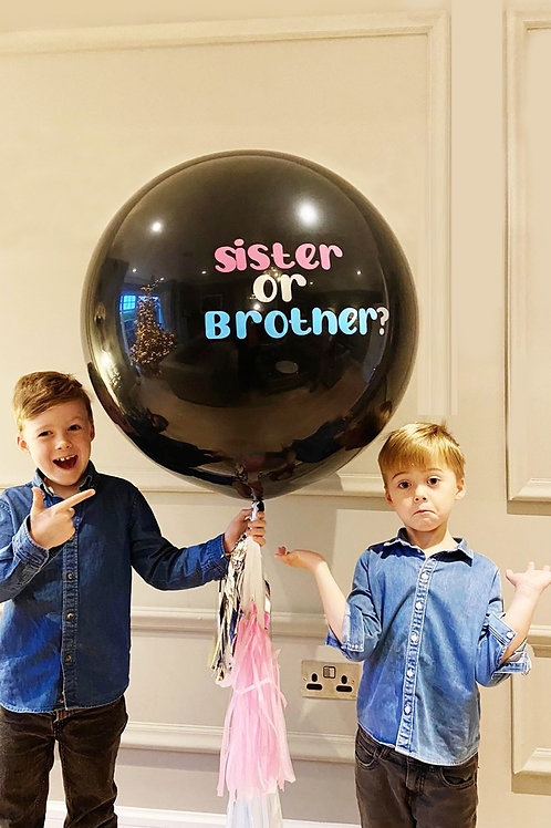 Gender Reveal Giant Balloon - including delivery (sorry Dublin only)