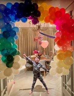 Giant Rainbow Balloons