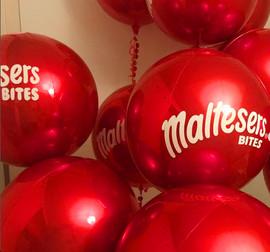 Maltesers Bites Metallic Balloon Orbz