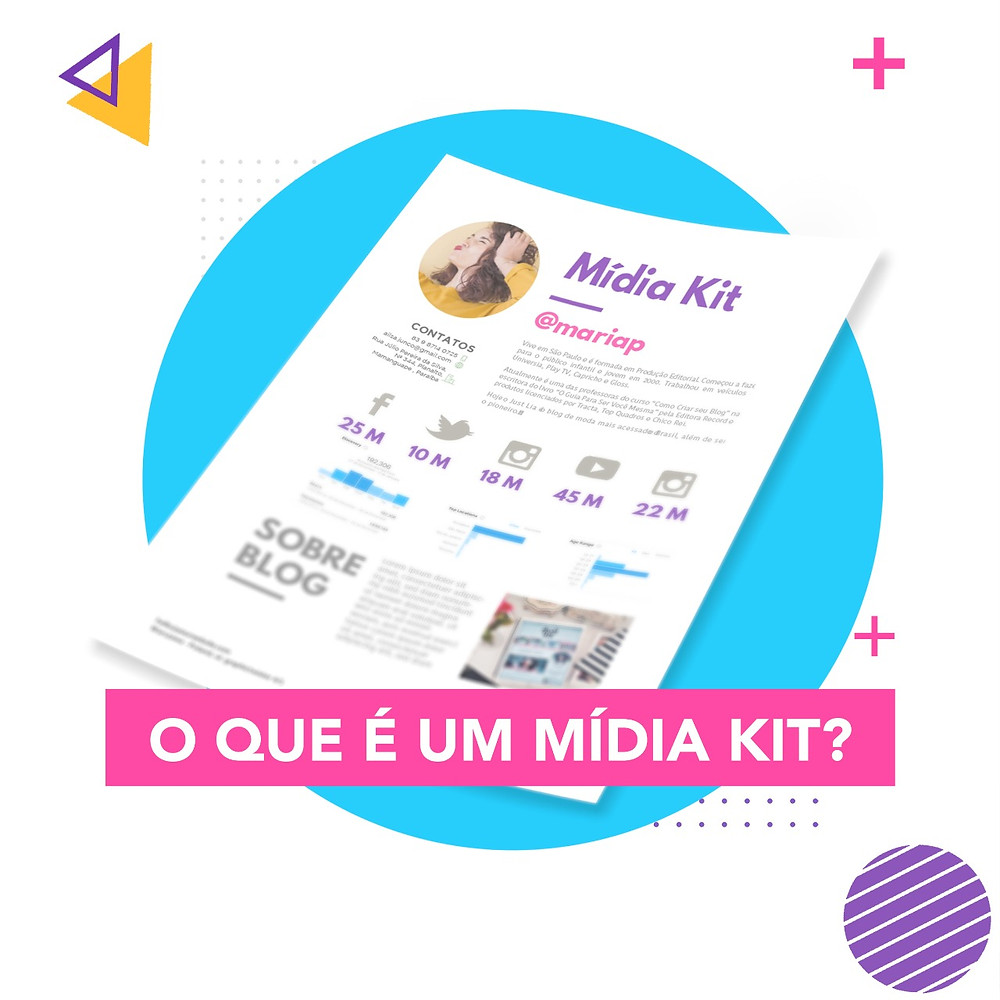 Mídia Kit Influencer