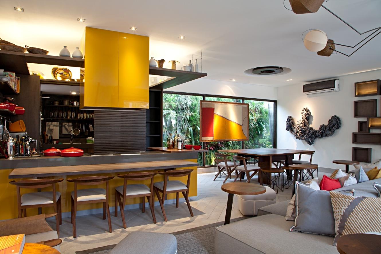 Cozinha Em Conceito Aberto Na Decora O Blog Design Interiores