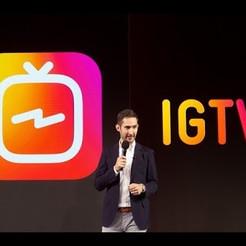 Instagram lança plataforma para publicação de vídeos de longa duração IGTV.
