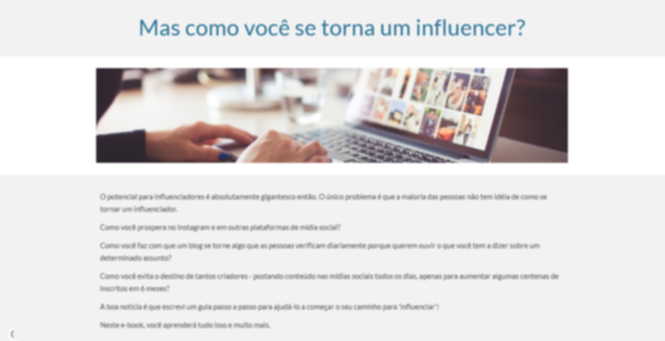 contrate influencer