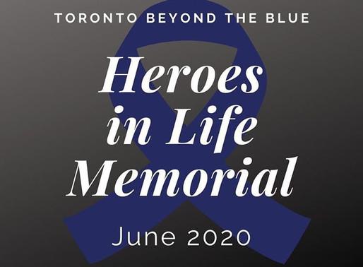Heroes in Life Memorial